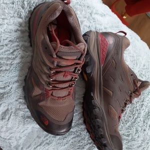 North Face Goretex hiking shoes